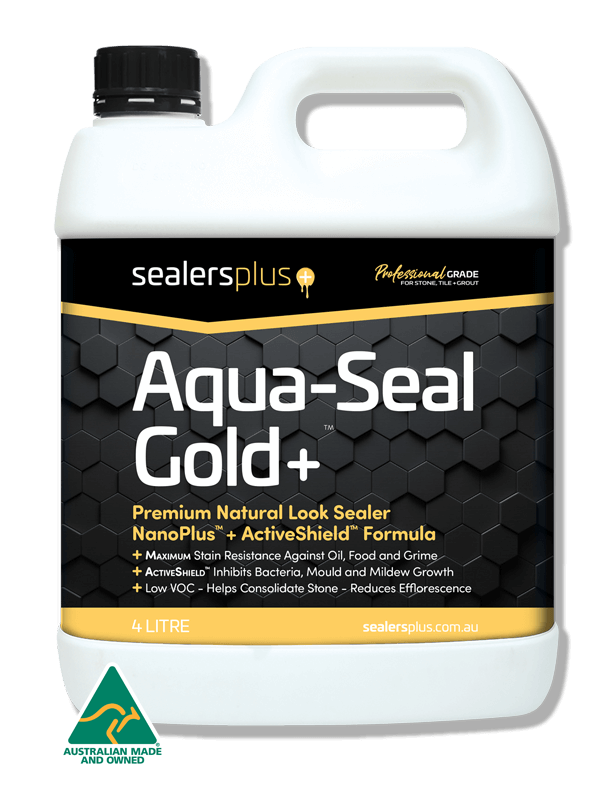 Aqua-Seal Gold+ Premium Natural look sealer with Rapid Seal. The choice of sealing professionals.