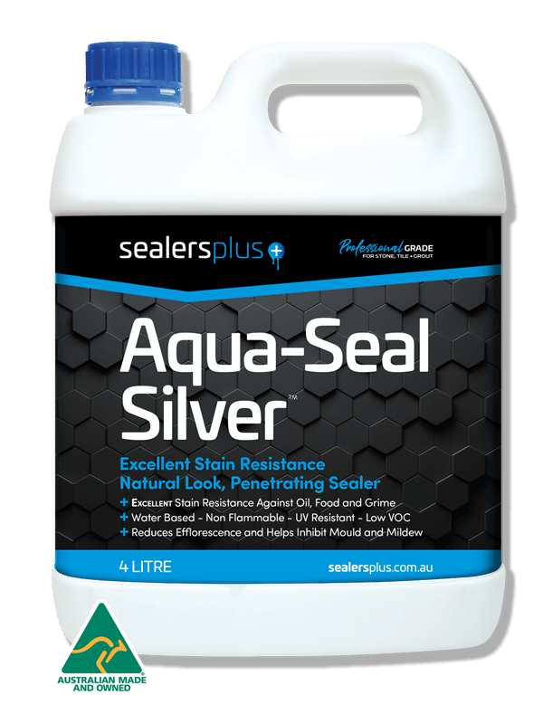 AQUA-SEAL-SILVER Natural Look sealer for stone tile and grout