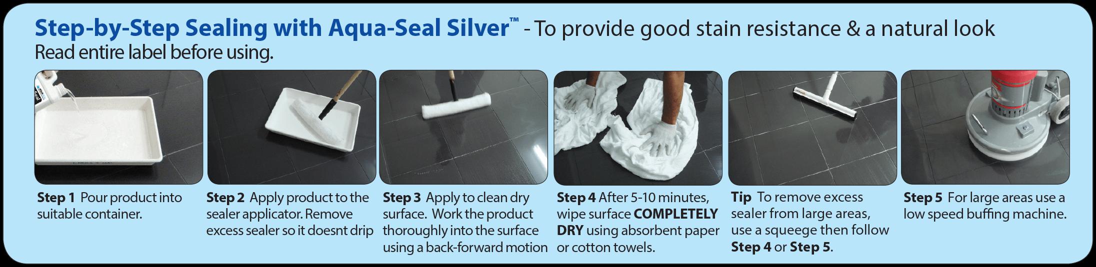 Sealers Plus Silver Procedure