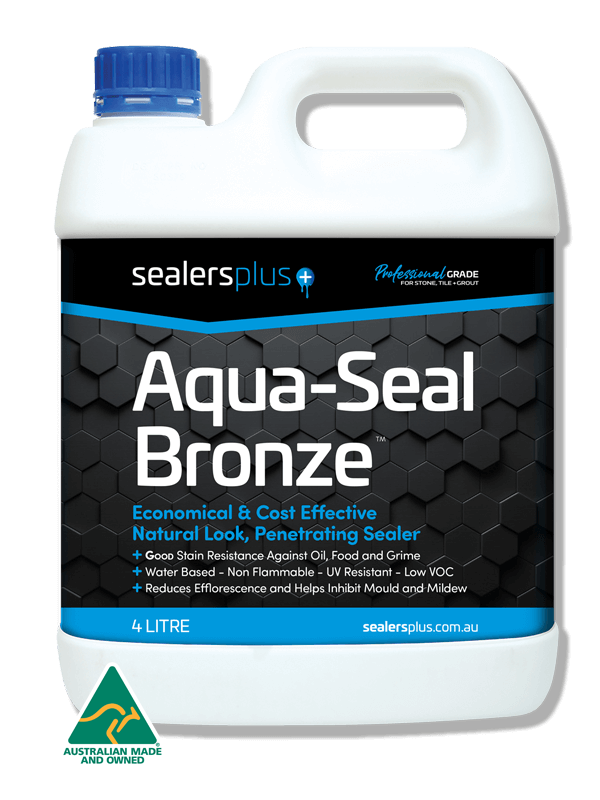 Aqua-Seal Bronze Natural look sealer for stone, tile and grout