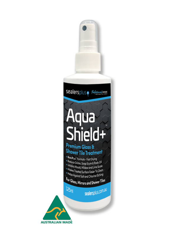 AquaShield+ Premium Glass and Shower Tile Sealer