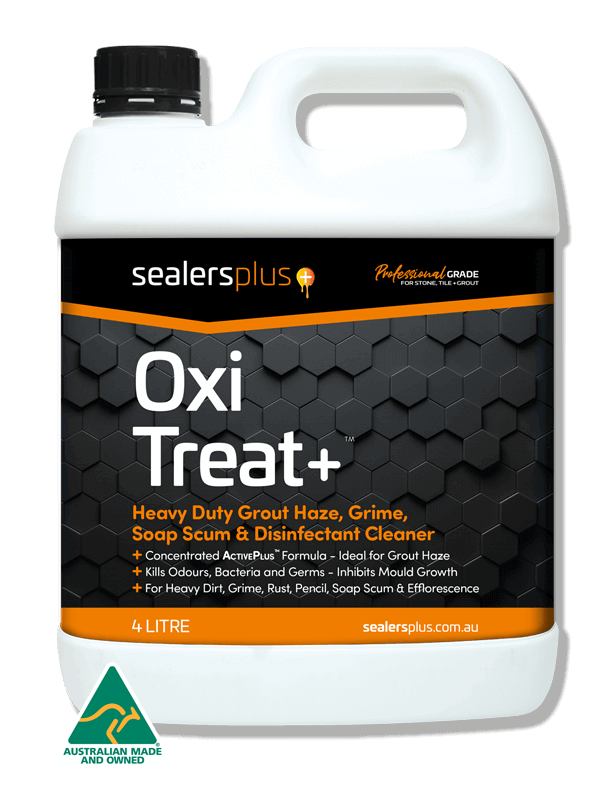 OXITREAT+ to help remove heavy grout haze from tiles