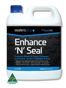 Enhance'N'Seal – Premium Stone Sealer + Colour Enhancer